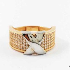 Žiedas su Cirkoniais AU176