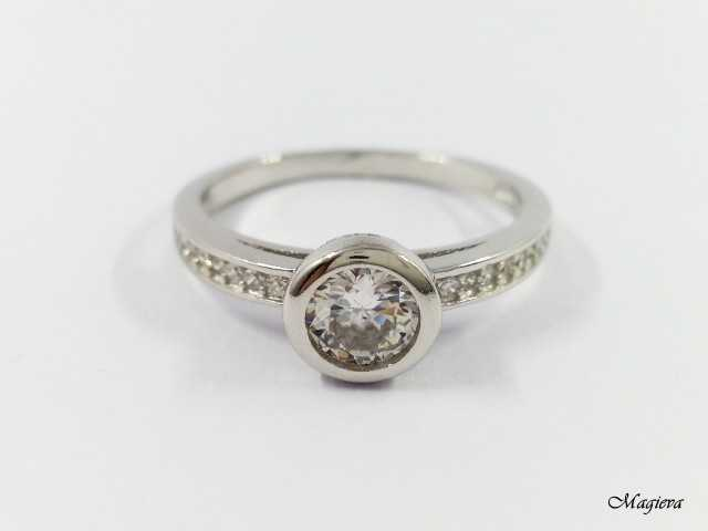 Žiedas su Cirkoniais S1758