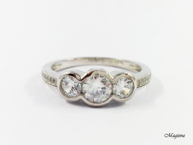 Žiedas su Cirkoniais S1776