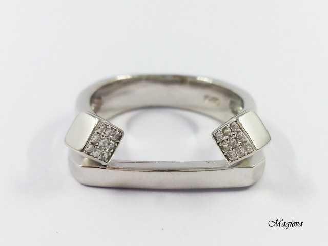 Žiedas su Cirkoniais S1764