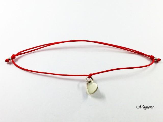 Apyrankė.Raudonas siūlas apsaugai nuo nužiūrėjimo S1801