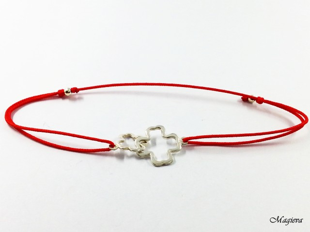 Raudonas siūlas apsaugai nuo nužiūrėjimo S1842