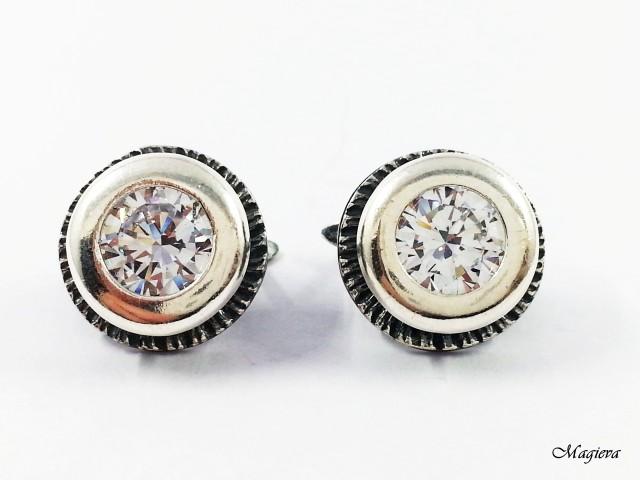 Auskarai su Swarovski kristalais S1932