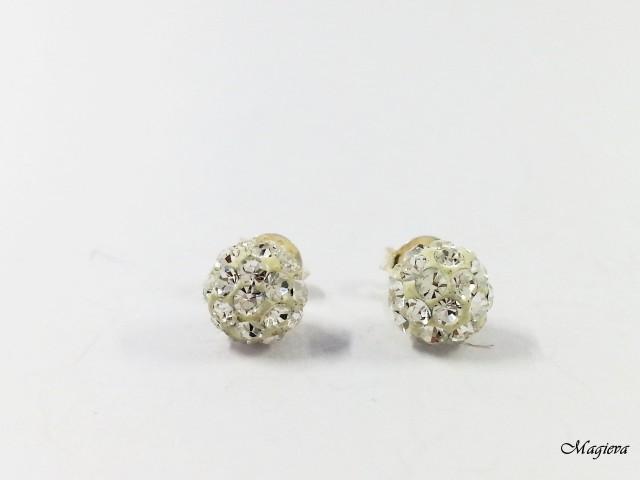 Auskarai su Swarovski kristalais S1815