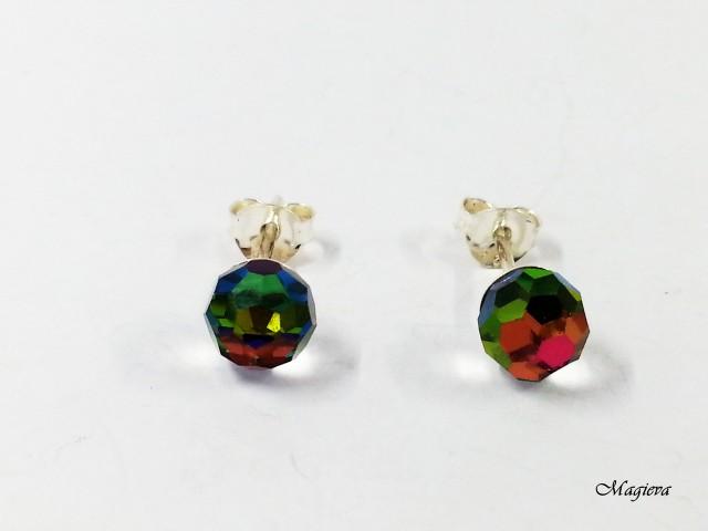 Auskarai su Swarovski kristalais S1934