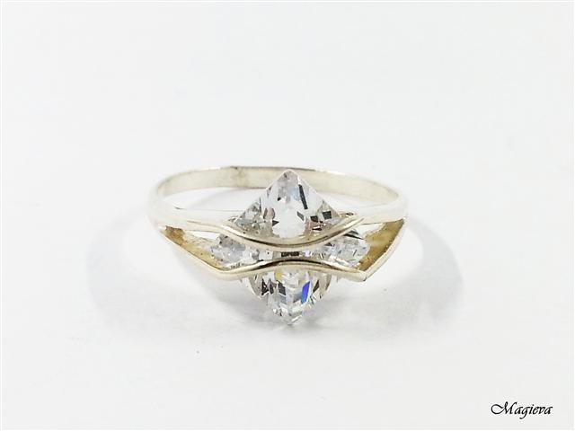 Žiedas su Cirkoniais S1966