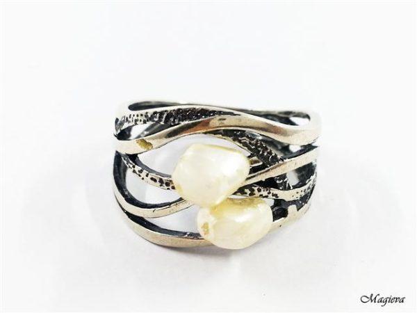 Žiedas su Perlais S2125