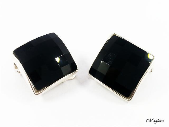 Klipsai su Swarovski kristalais S2135