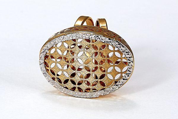 Auksinis žiedas A0033